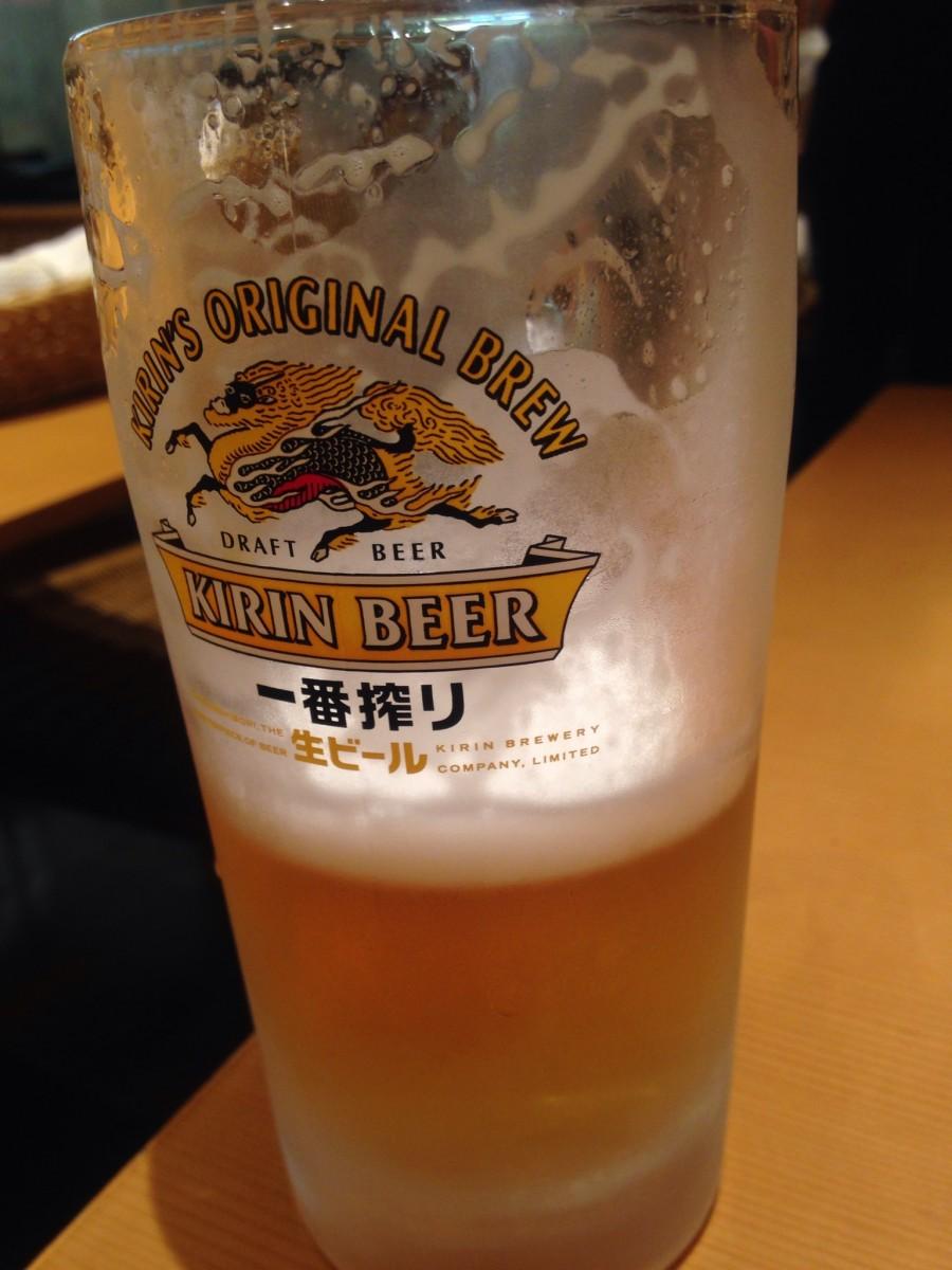 とりあえず空港ビール
