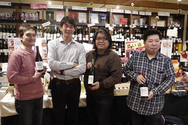 コヤマワインの小山 竜宇さんご来店
