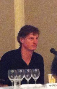 ヴィラマリア、オークランドのワインメーカー サイモン・フェレさん