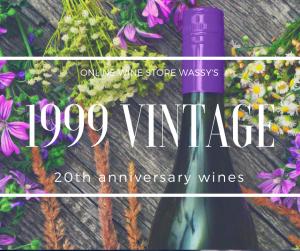 20周年のギフトにおすすめ 1999年ワイン