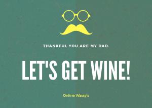 父の日 ワイン