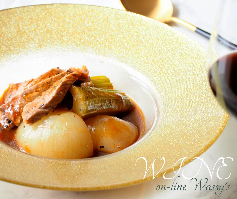 ワインのお供 煮込み料理 ビーフシチュー