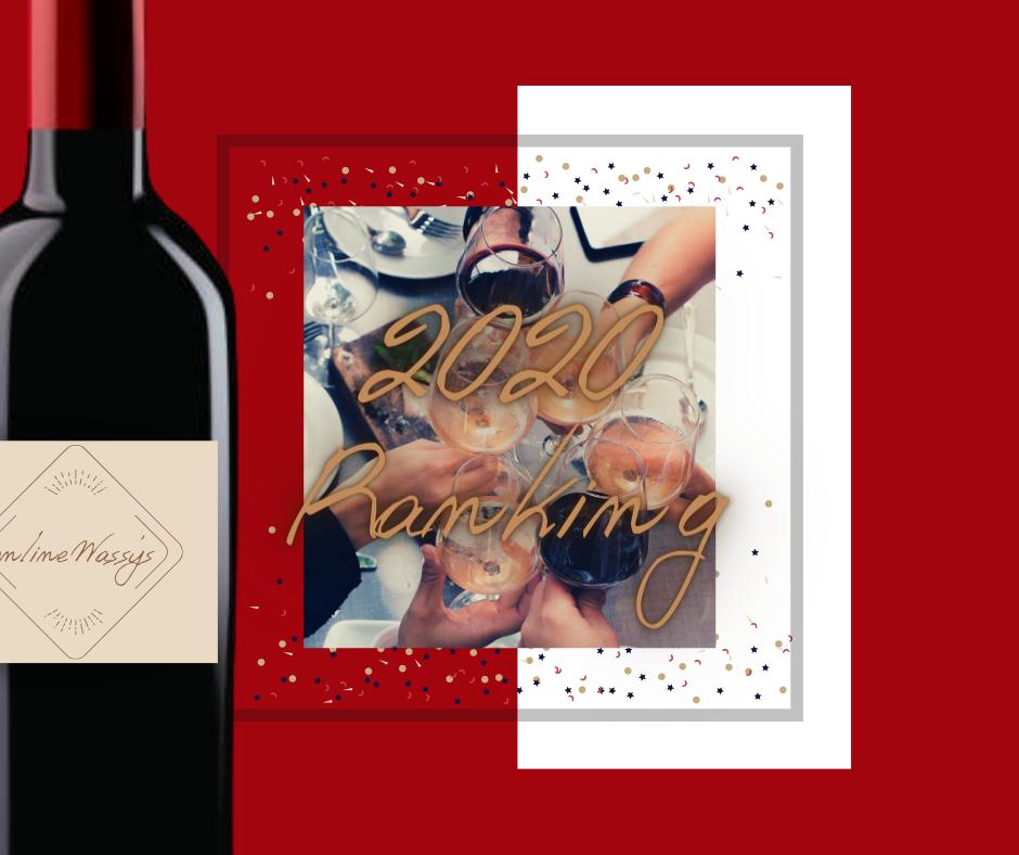 2020年間人気ワインランキング カリフォルニアワイン専門店 オンラインワッシーズ