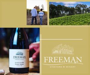 カリフォルニアワイン ソノマワイン フリーマン Freeman